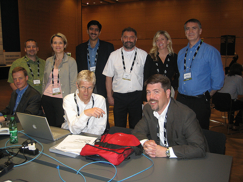 (most) of the bloggers at SAP's Sapphire07 in Vienna